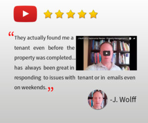 cleveland heights property management testimonial - joel