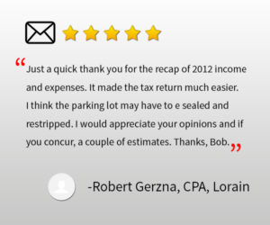 property management lorain oh robert gerzna cpa