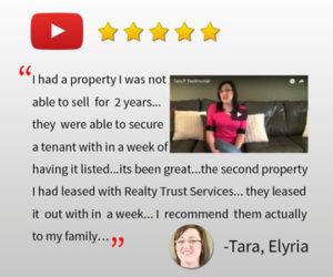 property managent elyria oh Tara