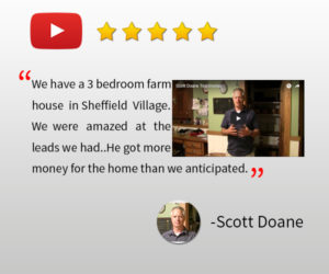 sheffield village property management testimonial - Scott
